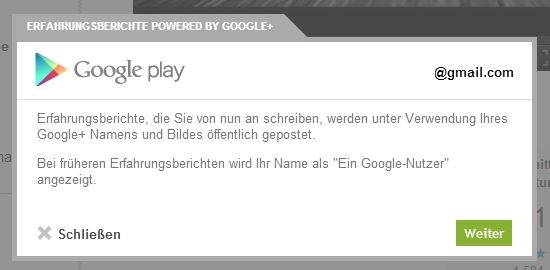 Google Play Google Plus Bewertungen2