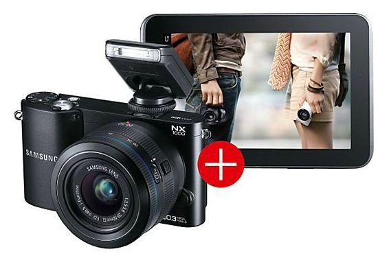 nx1000 und galaxy tab 7 saturn-deal