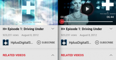 YouTube on Google TV Screenshots
