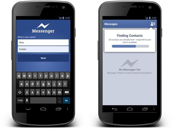 Facebook Messenger Handynummer