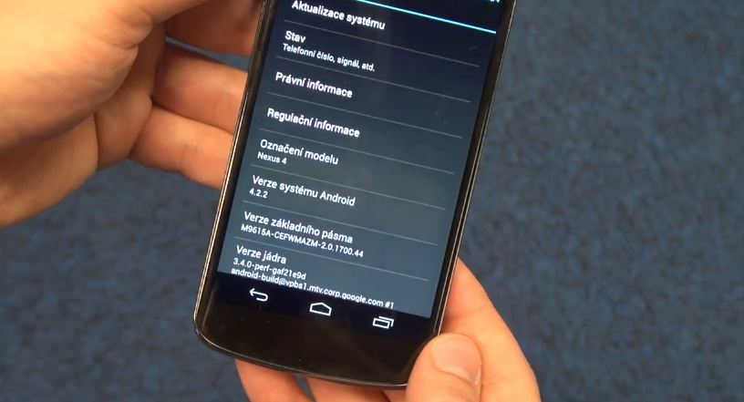 Android 4.2.2 tschechien