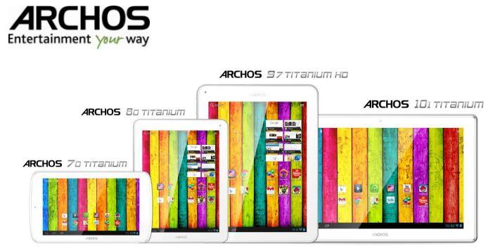Archos Titanium Serie