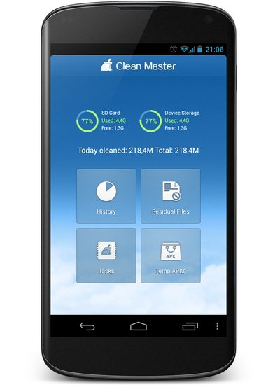 Clean Master Screenshot