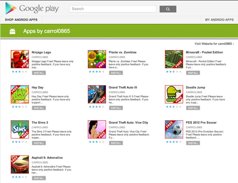 google-play-fake