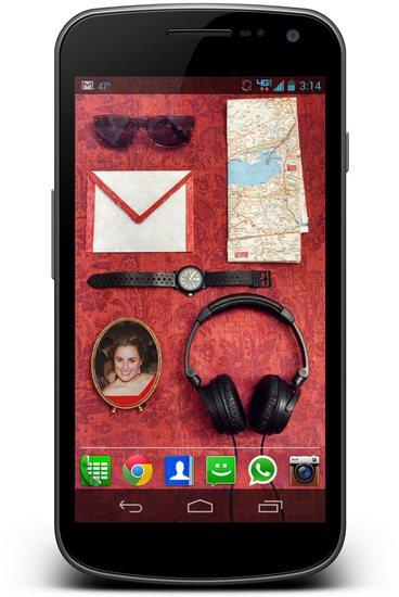 Homescreen icon screenshot