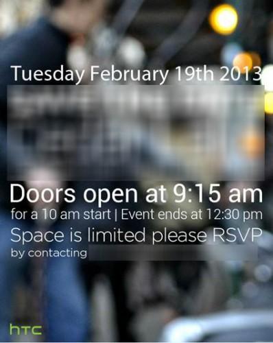 HTC 19.Feburar Einladung