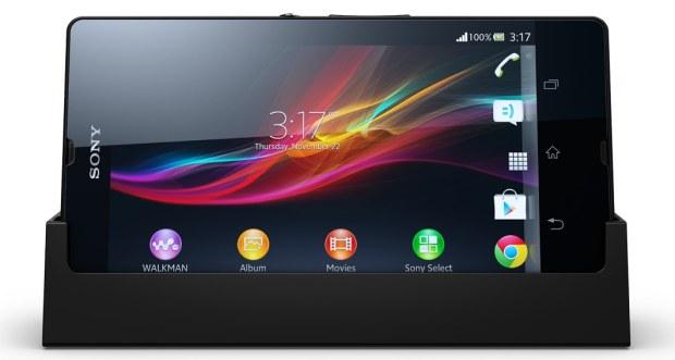 Sony Xperia Z Dockingstation Produktbild
