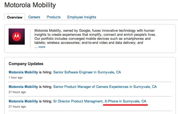 X Phone LinkedIn Job