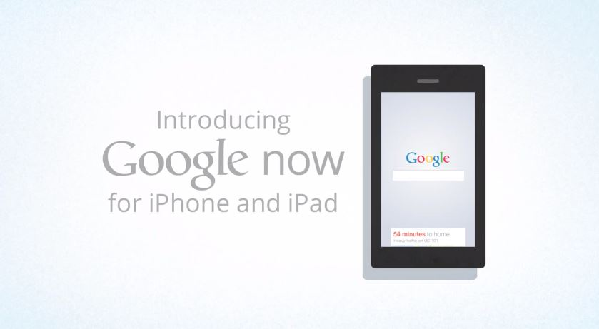 Google Now iOS