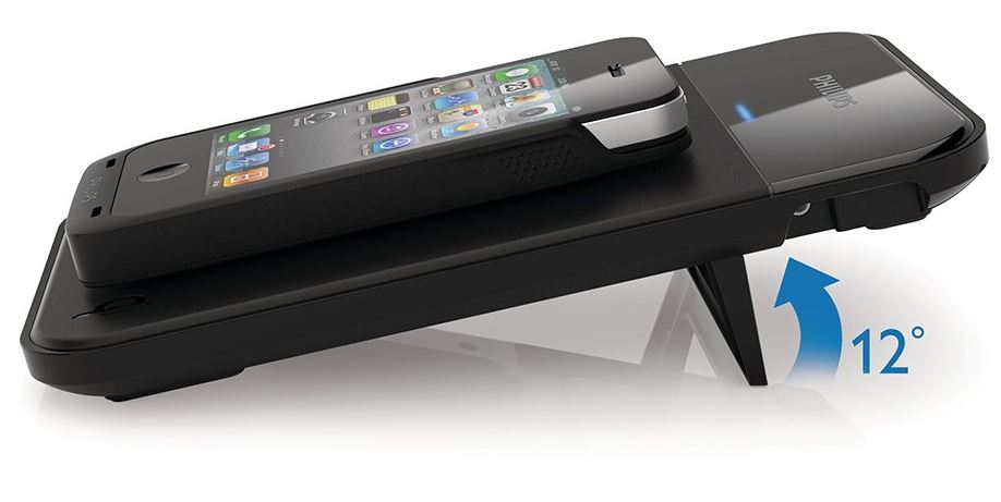induktive ladestation von philips f r iphone 4s nexus 4 und co f r nur 29 euro. Black Bedroom Furniture Sets. Home Design Ideas