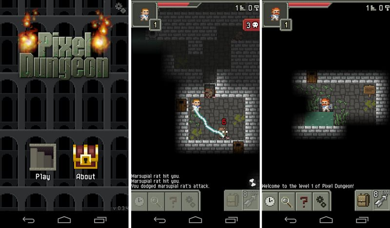 Pixel Dungeon Screenshots