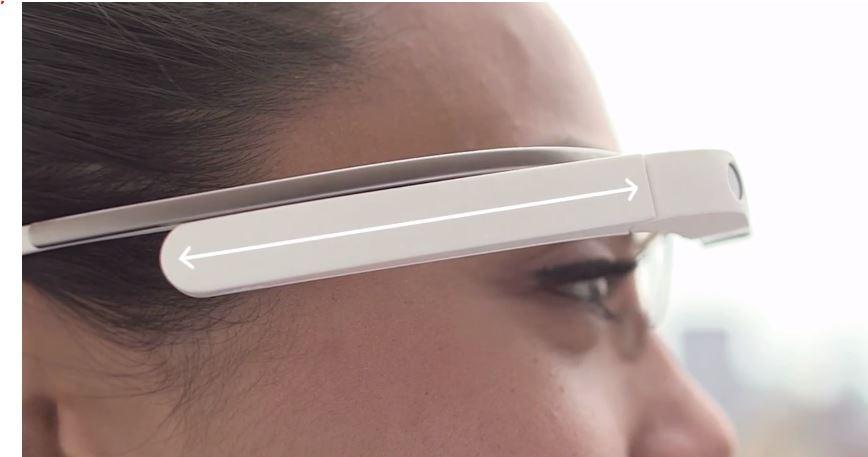 Google Glass Touchpad