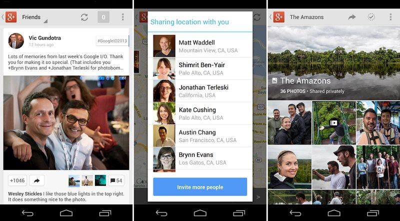 google plus 40 app