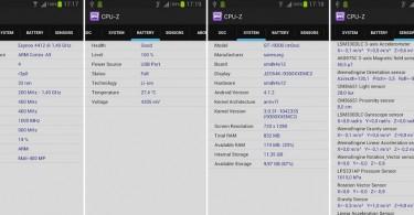 cpu z  screenshots
