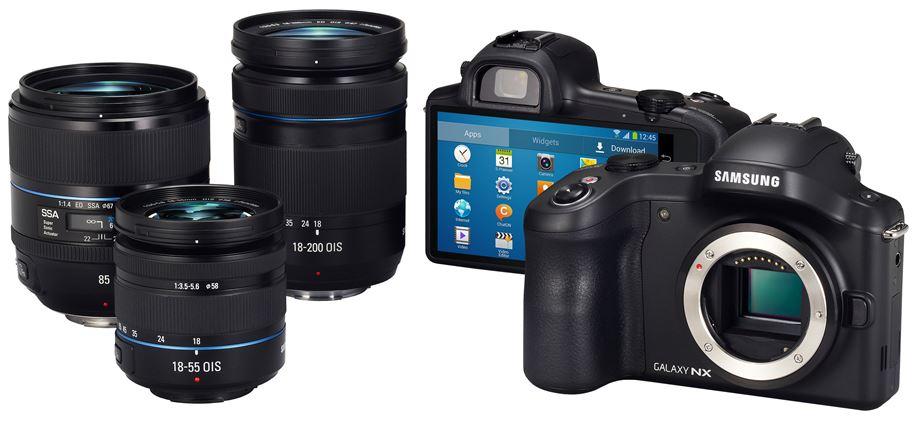 Samsung Galaxy NX Produktbild