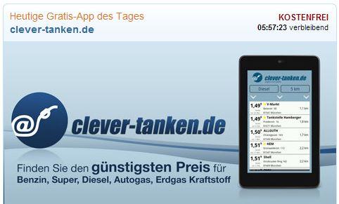 clever-tanken gratis amazon