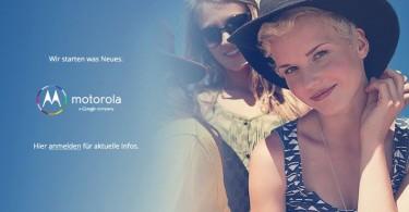 Motorola Teaser 2013 Deutschland