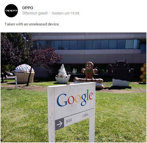 oppo google plus