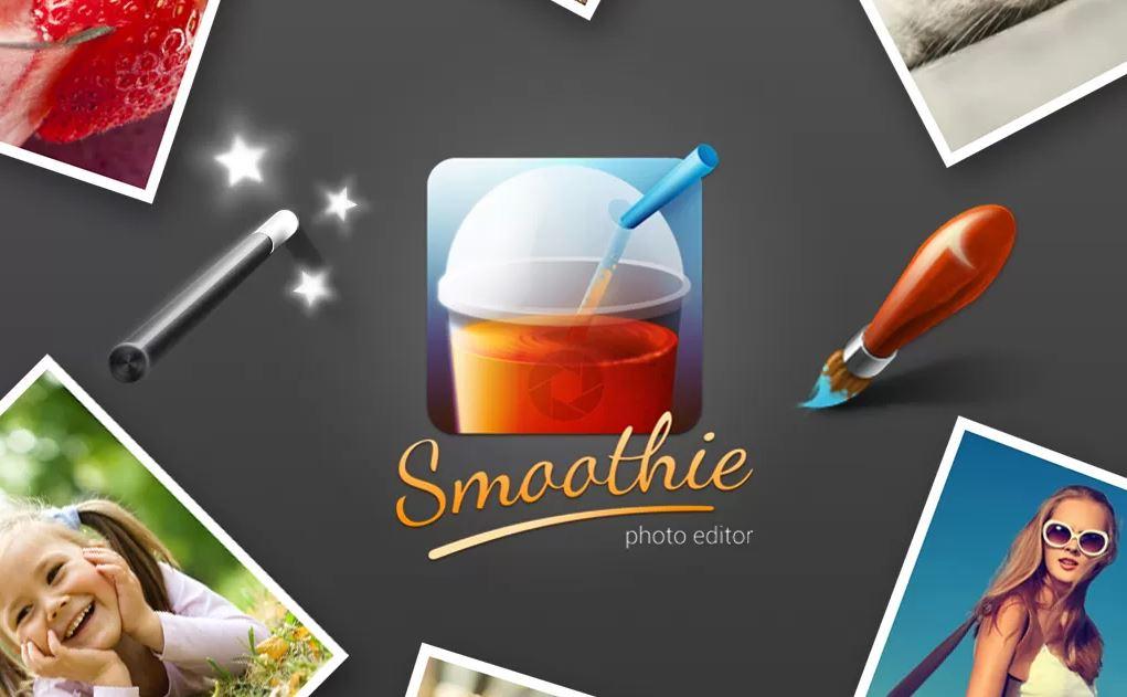Smoothie Photo Editor: Umfangreicher Foto-Editor für Android