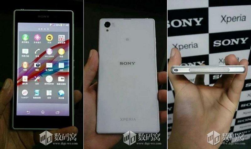 Sony Xperia Z1 Leak Fotos