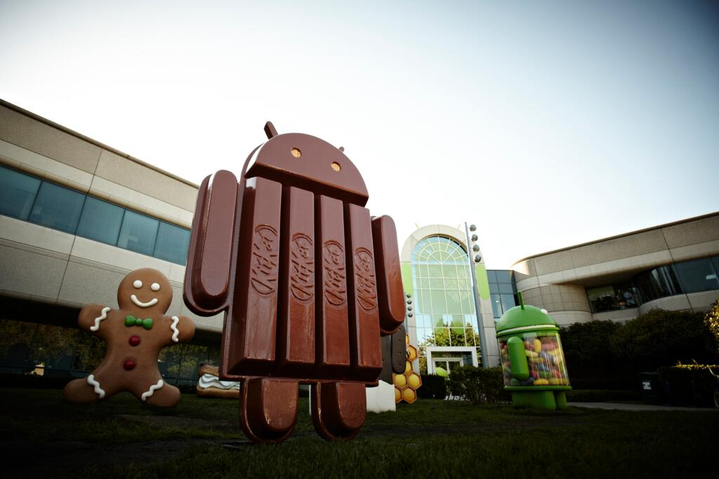 Android KitKat Foto