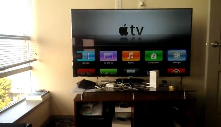 apple tv video screesnshot allcast