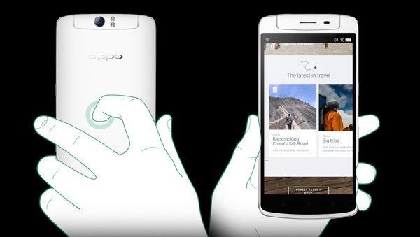 Oppo N1 Touch-Panel