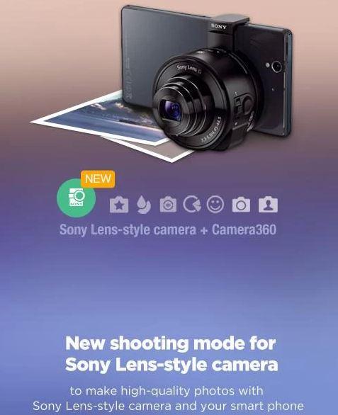 camera360 sony