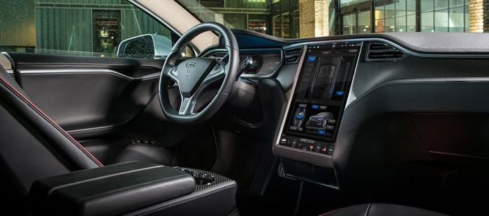 Tesla Model S Innenraum