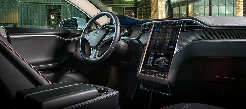 Tesla model s wird chrome und android emulator bekommen for Innenraum design app