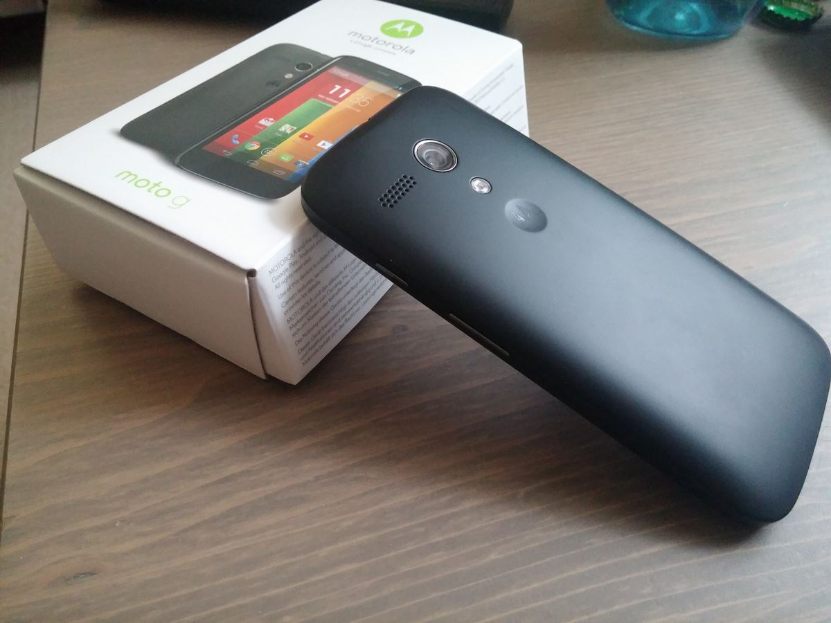 Moto G Hands On