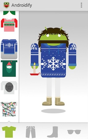 androidify 2013 weihnachten