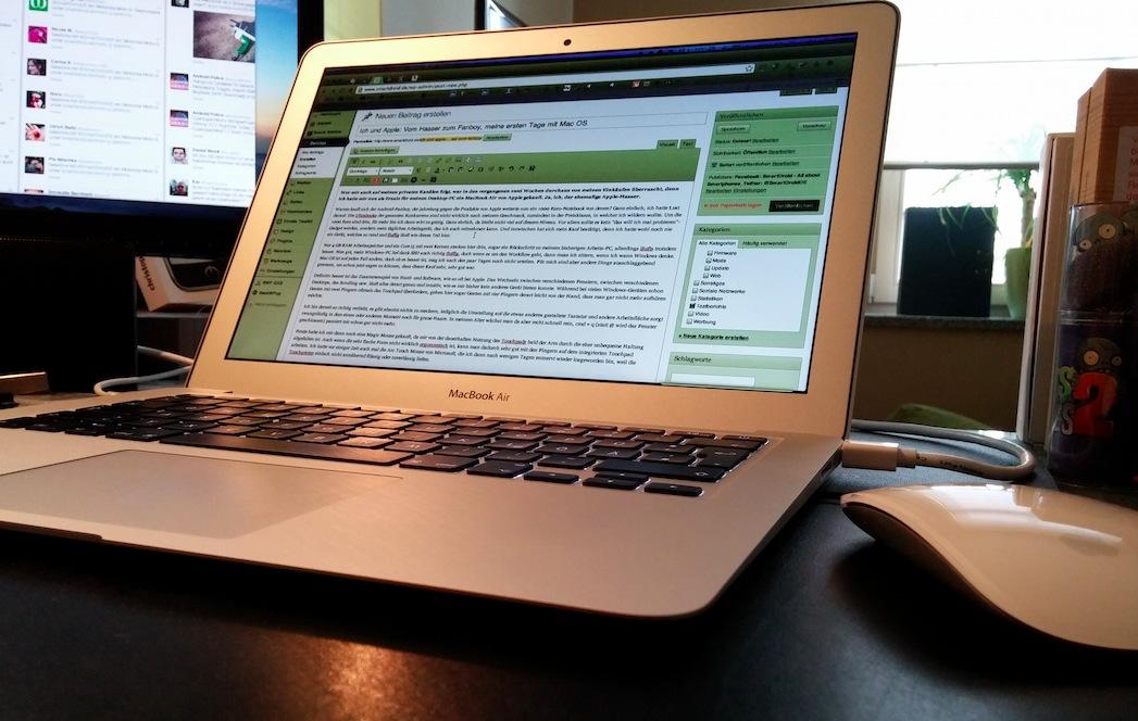 Macbook Air und Magic  Mouse
