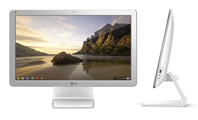 LG Chromebase Produktbild