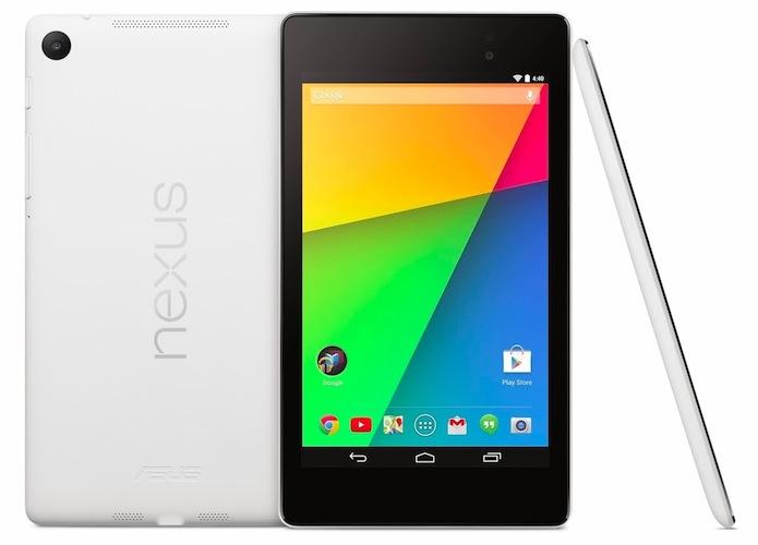 Nexus 7 2013 weiß Produktibld