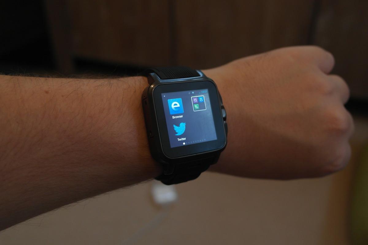 simvalley smartwatch aw 414 go von pearl im test. Black Bedroom Furniture Sets. Home Design Ideas