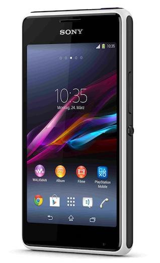 Sony Xperia E1 Produktbild 2014