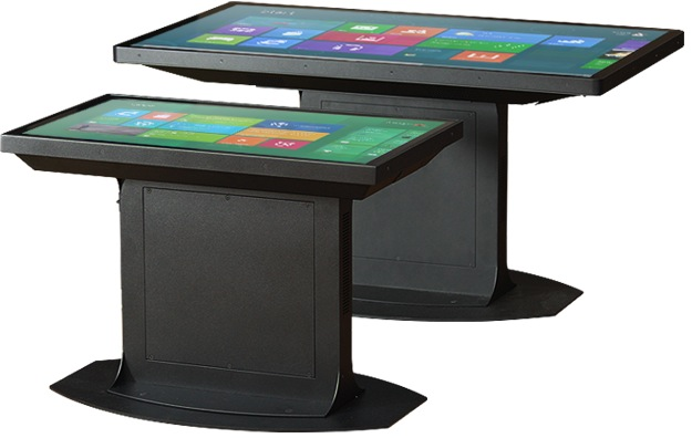 ideum coffee table smarte tische mit android. Black Bedroom Furniture Sets. Home Design Ideas