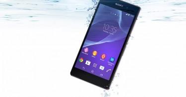 Sony Xperia Z2 Wasser