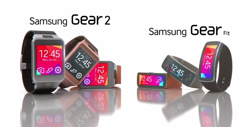 Samsung Gear Fit und Gear 2