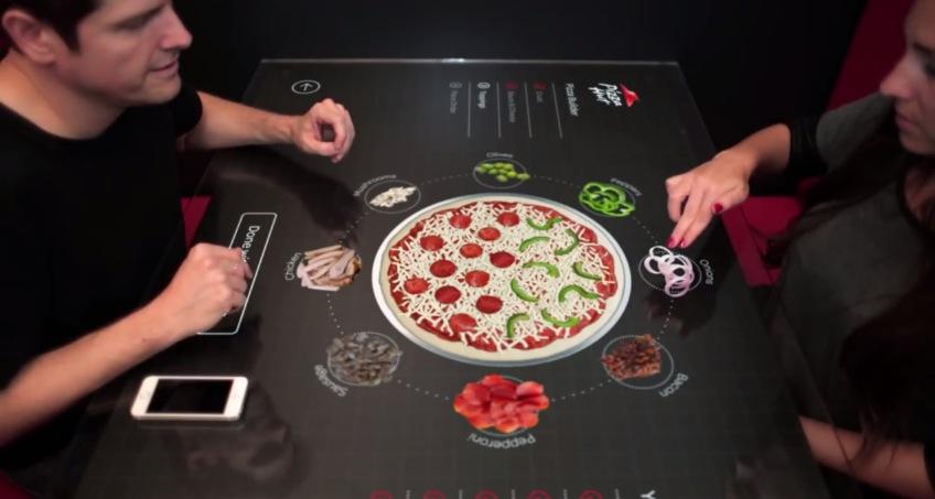 Wie Wir In Zukunft Unsere Pizza Im Restaurant Bestellen