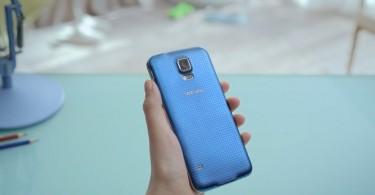 Samsung Galaxy S5 blau