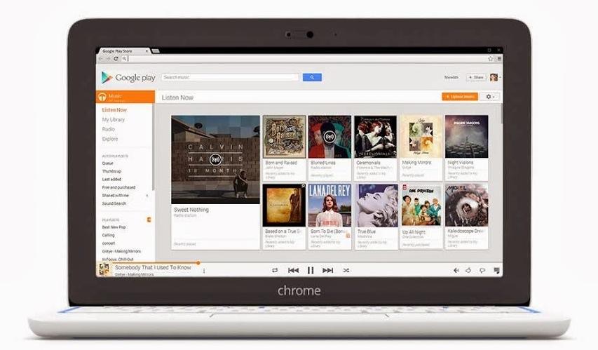Google Play Music Chromebook