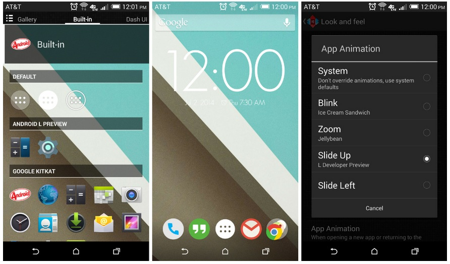 Nova Launcher Android L Beta