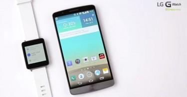 LG G Watch und G3