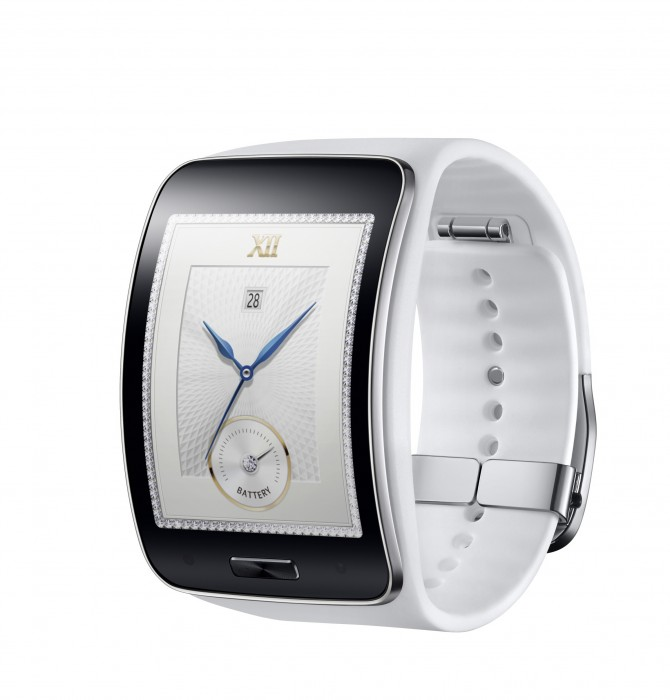 Samsung Gear S_Pure White_2