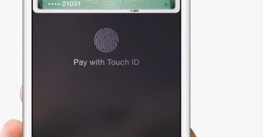 touch id apple pay
