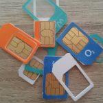 SIM-Karten Header