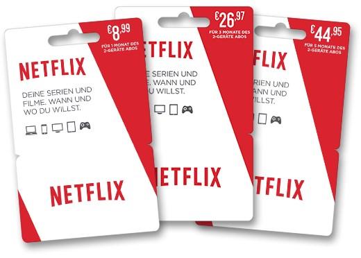 Netflix F 252 Hrt Gutscheinkarten F 252 R Deutschen Einzelhandel Ein