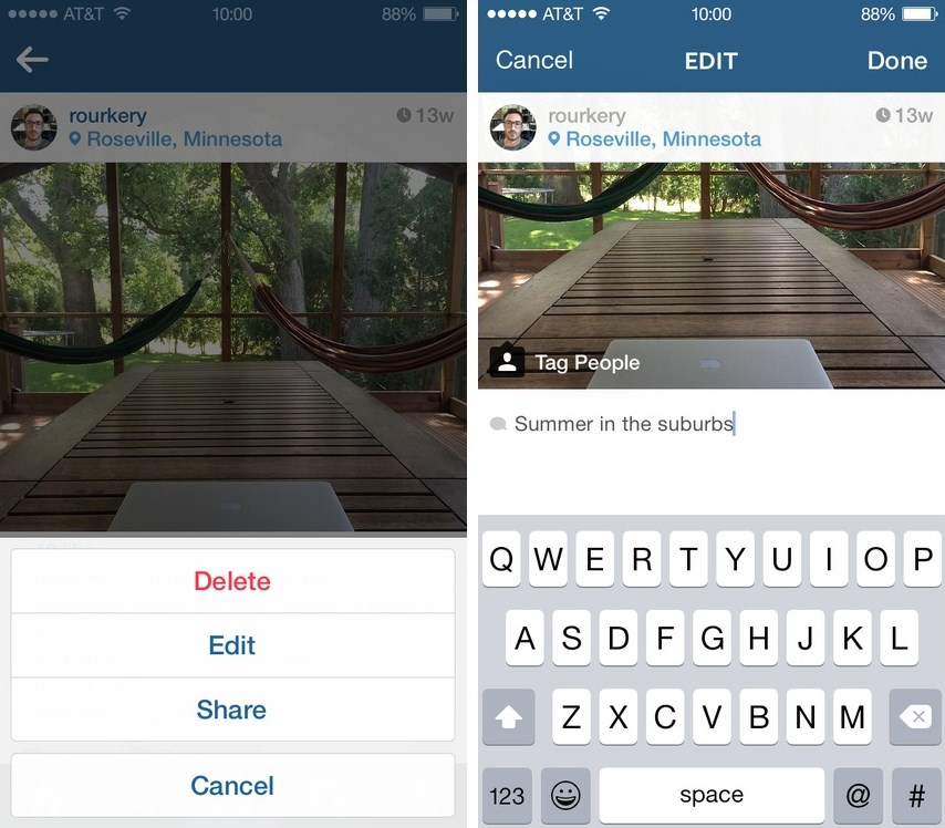 instagram bilder nachtr glich bearbeiten automobil bau auto systeme. Black Bedroom Furniture Sets. Home Design Ideas